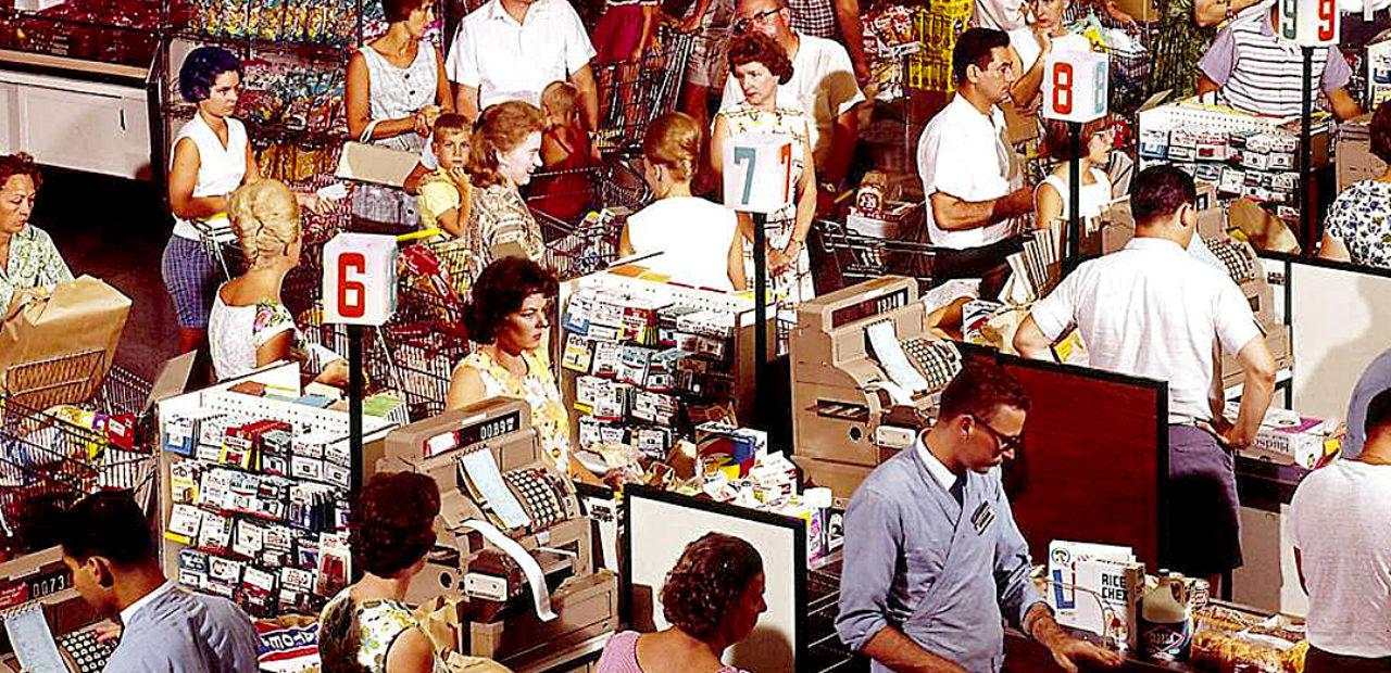 The American Supermarket - 1958