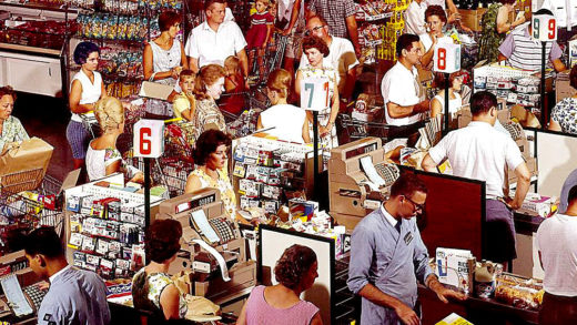 The American Supermarket - 1958