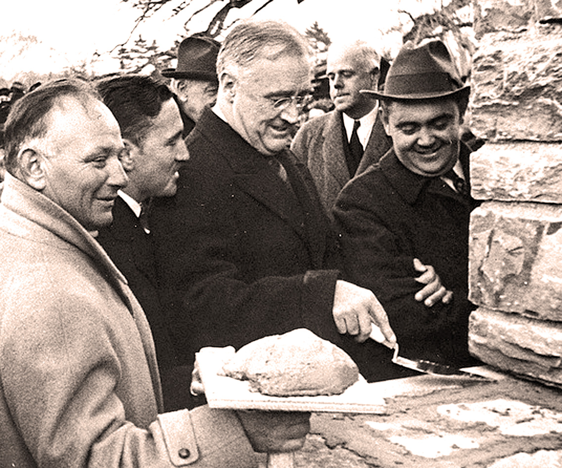 November 15, 1939 – President Roosevelt Lays The Cornerstone At The Jefferson Memorial – Past Daily Reference Room