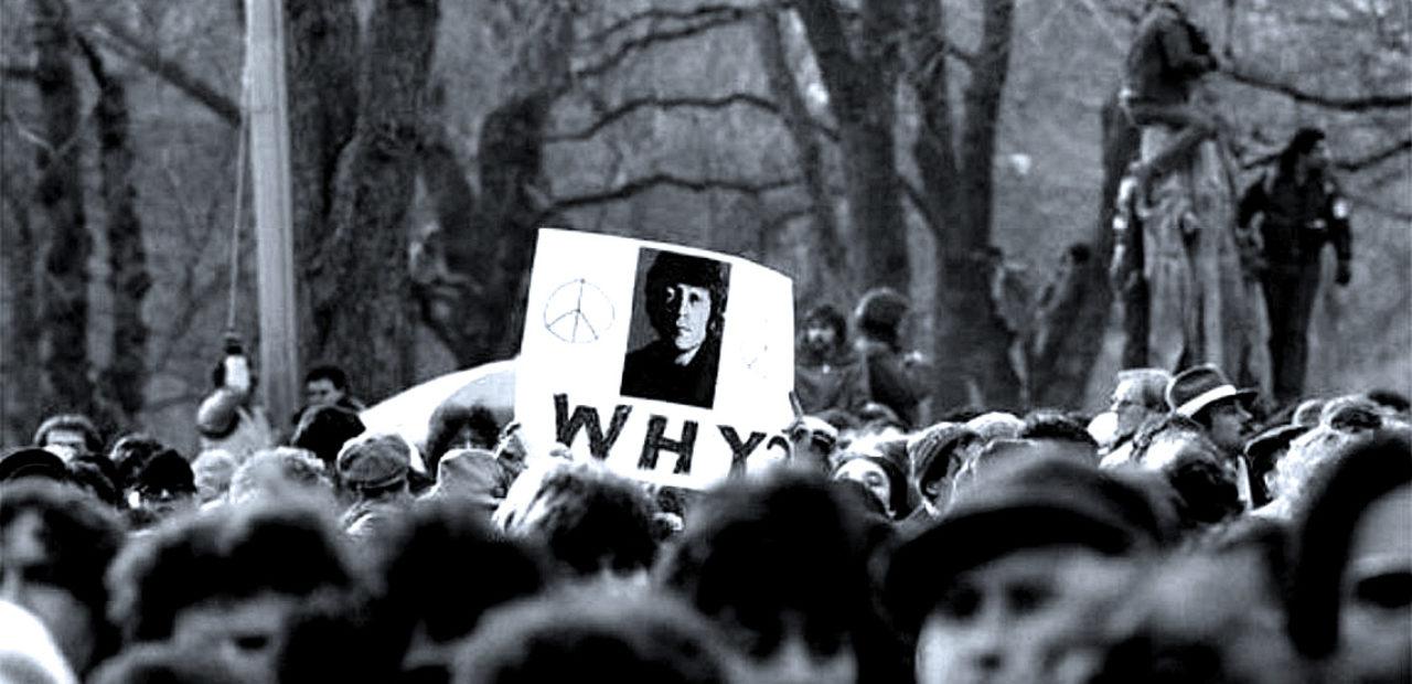 John Lennon Central Park Memorial