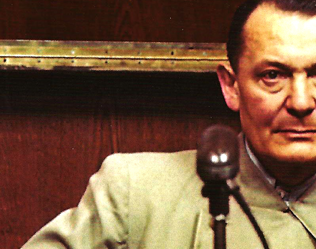 "December 14, 1945 – Nuremberg Trials – Goering: ""We Are Having An Extremely Difficult Week""."