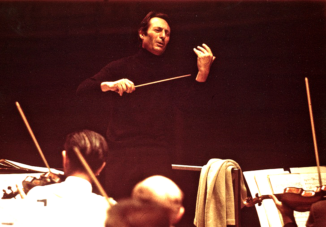 Carlo Maria Giulini With Daniel Barenboim And The Chicago Symphony – 1977 Pension Fund Concert – Past Daily Mid-Week Concert