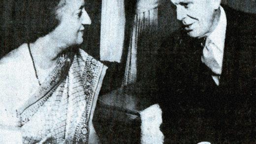 Indira Gandhi - Clark Clifford