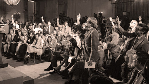 Washington Press Corps - 1975