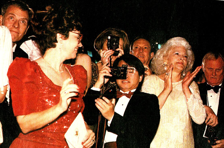 January 19, 1989 – Anticipating The Bush Era – Galas And Gorbachev