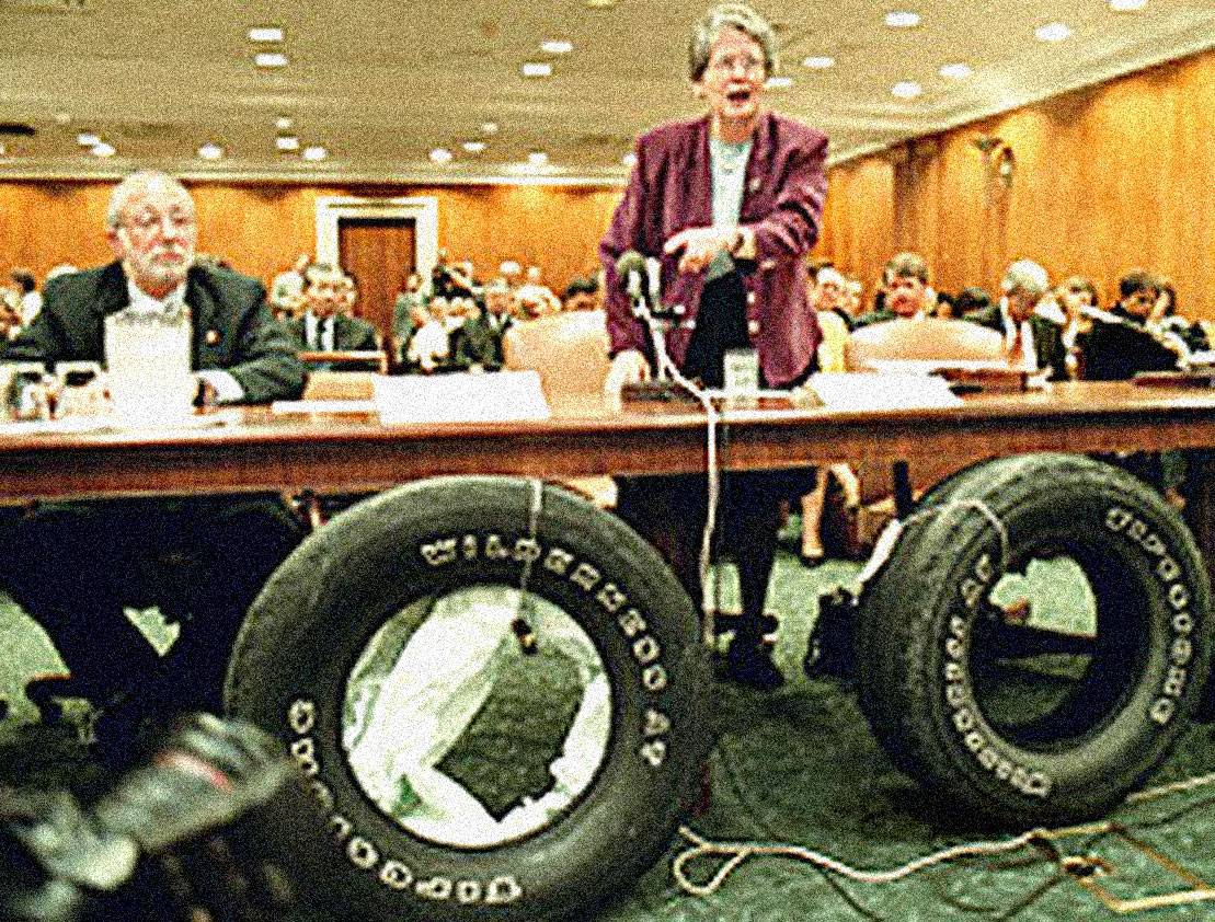 January 8, 2001 – Exploding Tires And Disappearing Airlines – The Ford-Bridgestone Trial – The TWA Bankruptcy