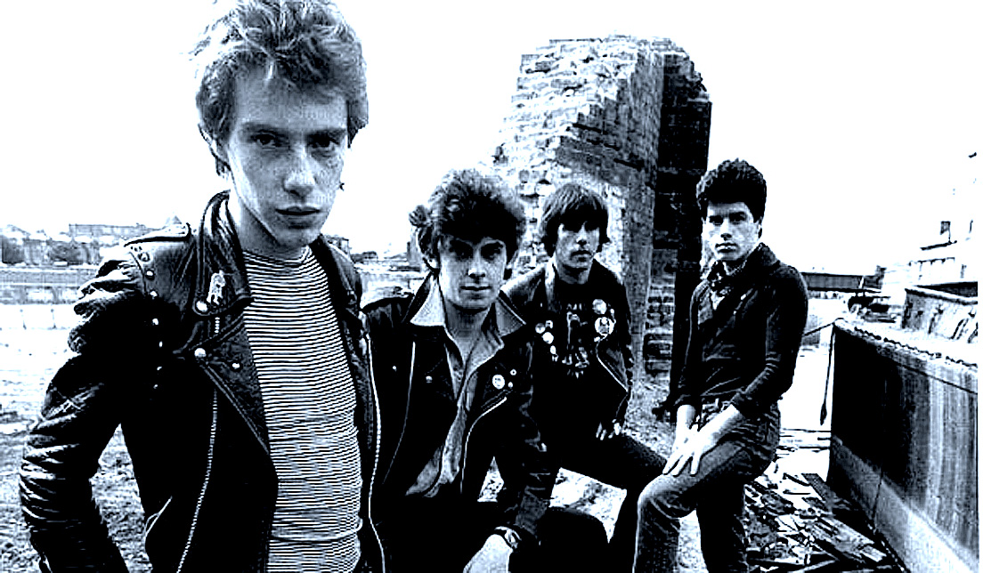 Stiff Little Fingers In Session – 1978 – Past Daily Soundbooth