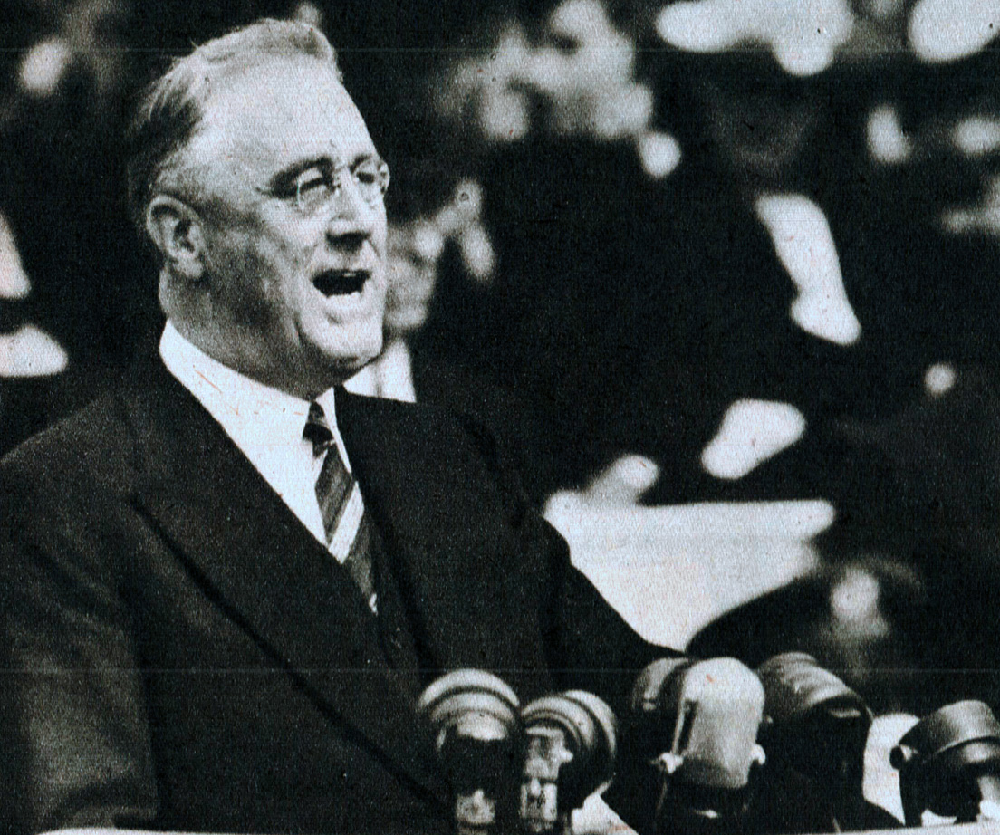 President Roosevelt: Jackson Day Dinner – January 8, 1940 – Past Daily Reference Room