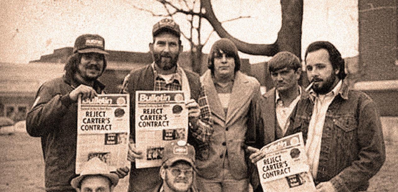 Coal Miners on Strike - 1978