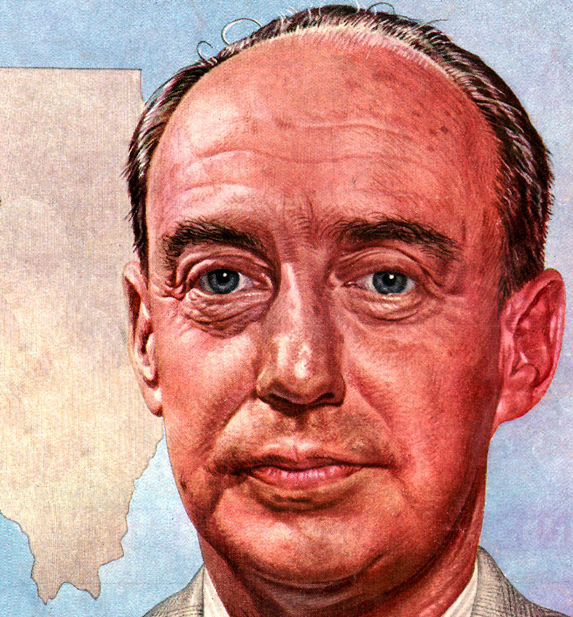 Adlai Stevenson Assesses The Future Of The Democratic Party  – 1953 – Past Daily Reference Room