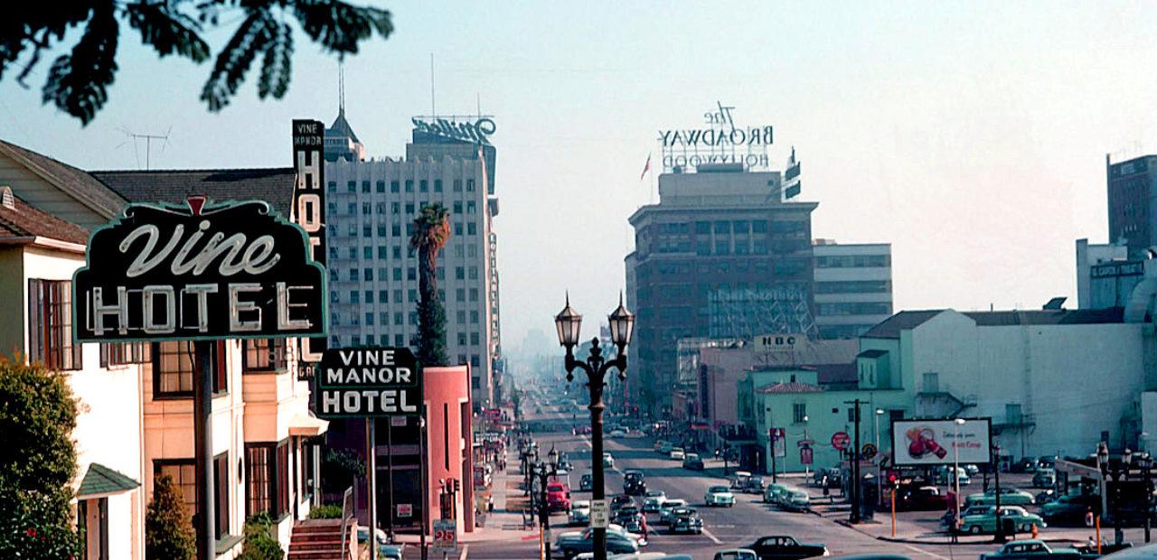 Vine Street - Hollywood - 1953