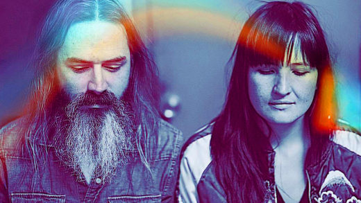 Moon Duo in session