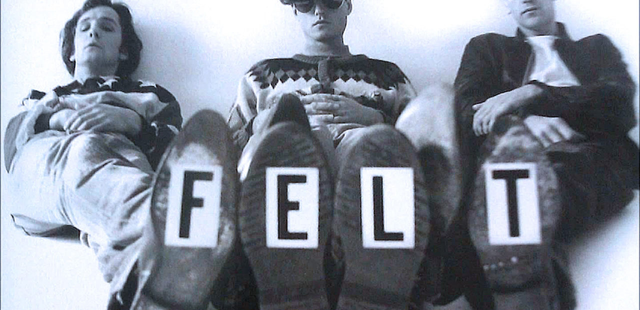 Felt - in session for Janice Long 1984