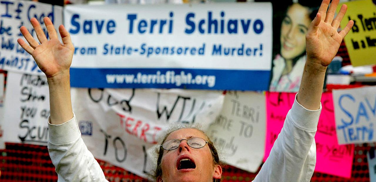 Terri Schiavo Feeding tube fracas
