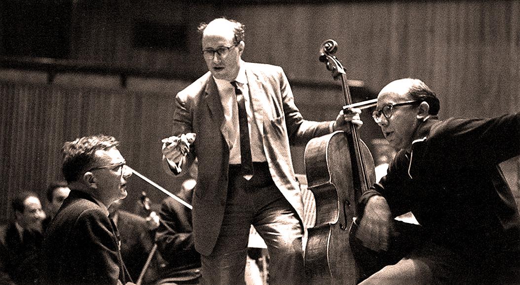 Mstislav Rostropovich With Gennadi Rozhdestvensky And The Leningrad Symphony – 14th Edinburgh Festival 1960 – Past Daily Mid-Week Concert