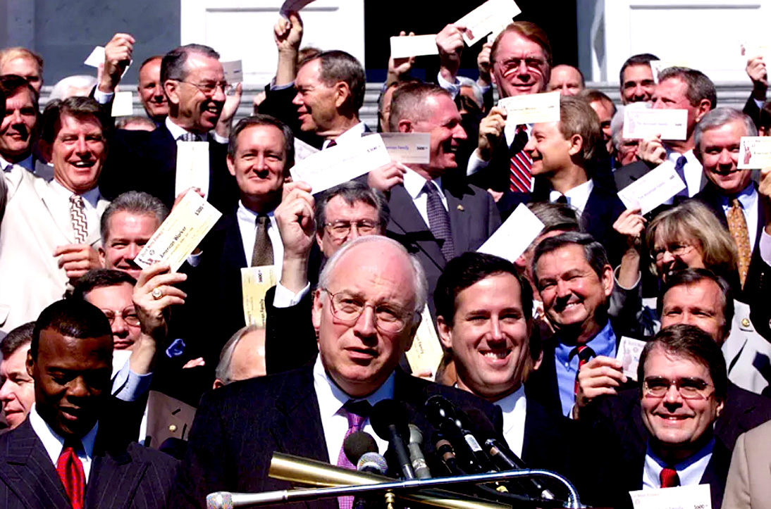 May 30, 2001 – Tax Cut 2001 – Not Everything That Can Be Counted Counts/Not Everything That Counts Can Be Counted