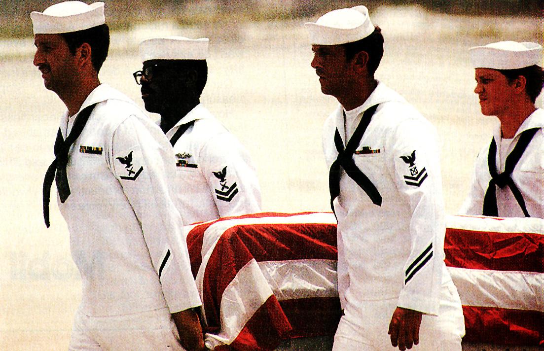 May 22, 1987 – Here Come The Caskets – USS Stark Aftermath – Persian Gulf Dilemma – Smoke; Meet Mirrors