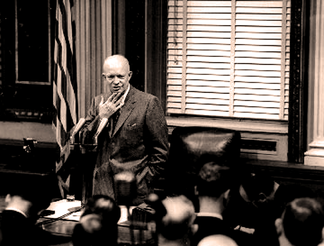 April 12, 1954 – An Eisenhower Press Conference – Presidents Being Presidential