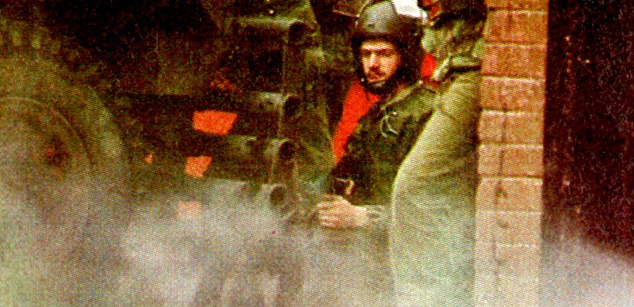 British Soldiers in Belfast