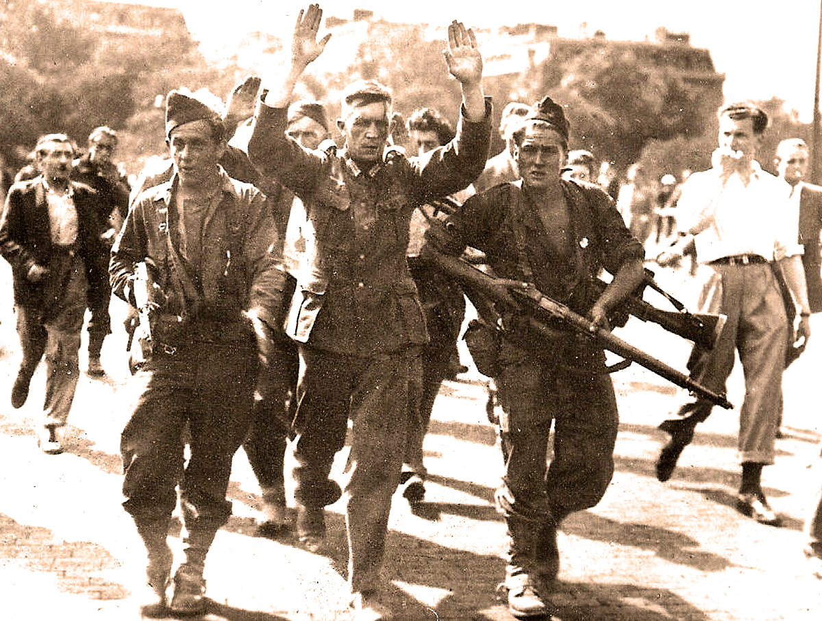 Paris Is Liberated – August 25, 1944 –