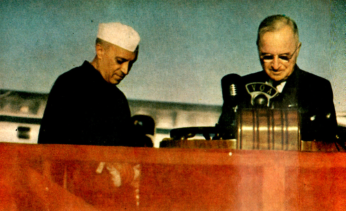 October 16, 1949 – Nehru Pays A Visit – What Next For The Communists Of America? – The Subject Was Money.
