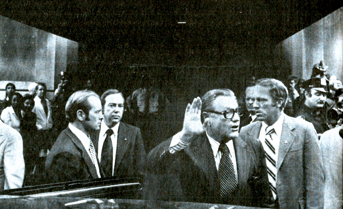 November 2, 1974 – Rockefeller Confirmation Gets Rocky – Down To The Wire On Mid-Terms