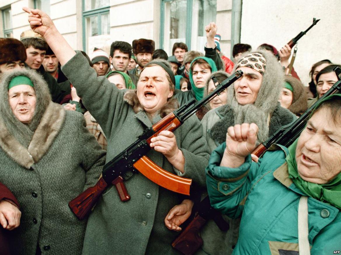 Armed Babushkas