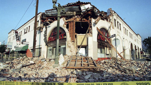 L.A. Earthquake 1994 - aftershocks