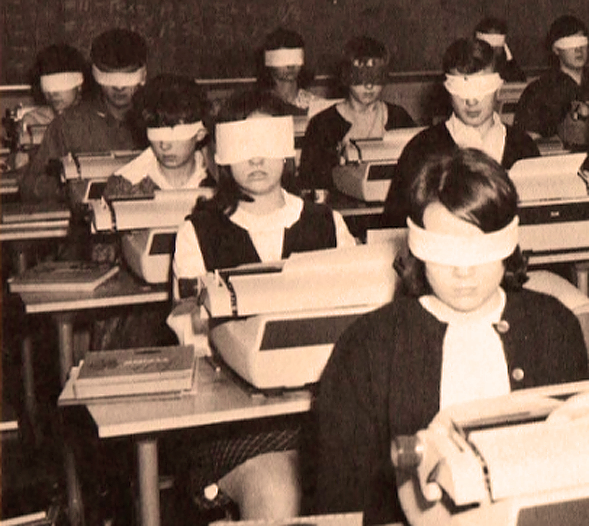 Typing Class - 1967