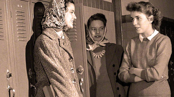 Young women voters - 1952