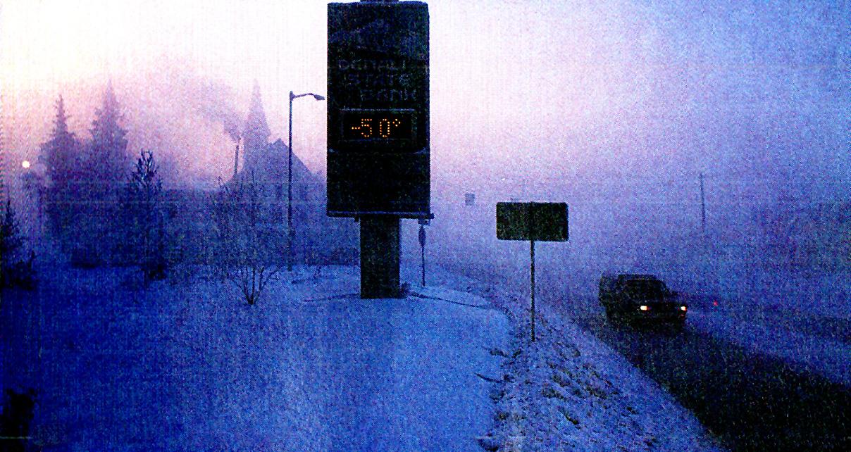 Frigid Fairbanks - 50 below