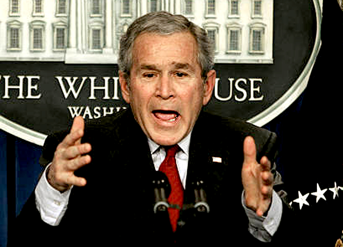 March 21, 2006 – A Bush Press Conference – Three Years And Counting. . . And Counting . . .And Counting.