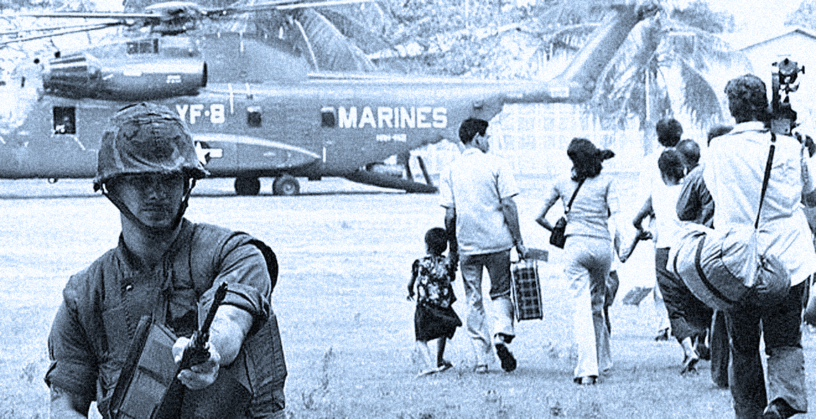 Embassy personnel leaving Cambodia