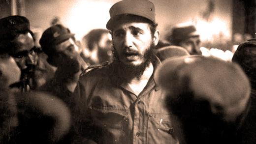 Fidel Castro Pays A Visit