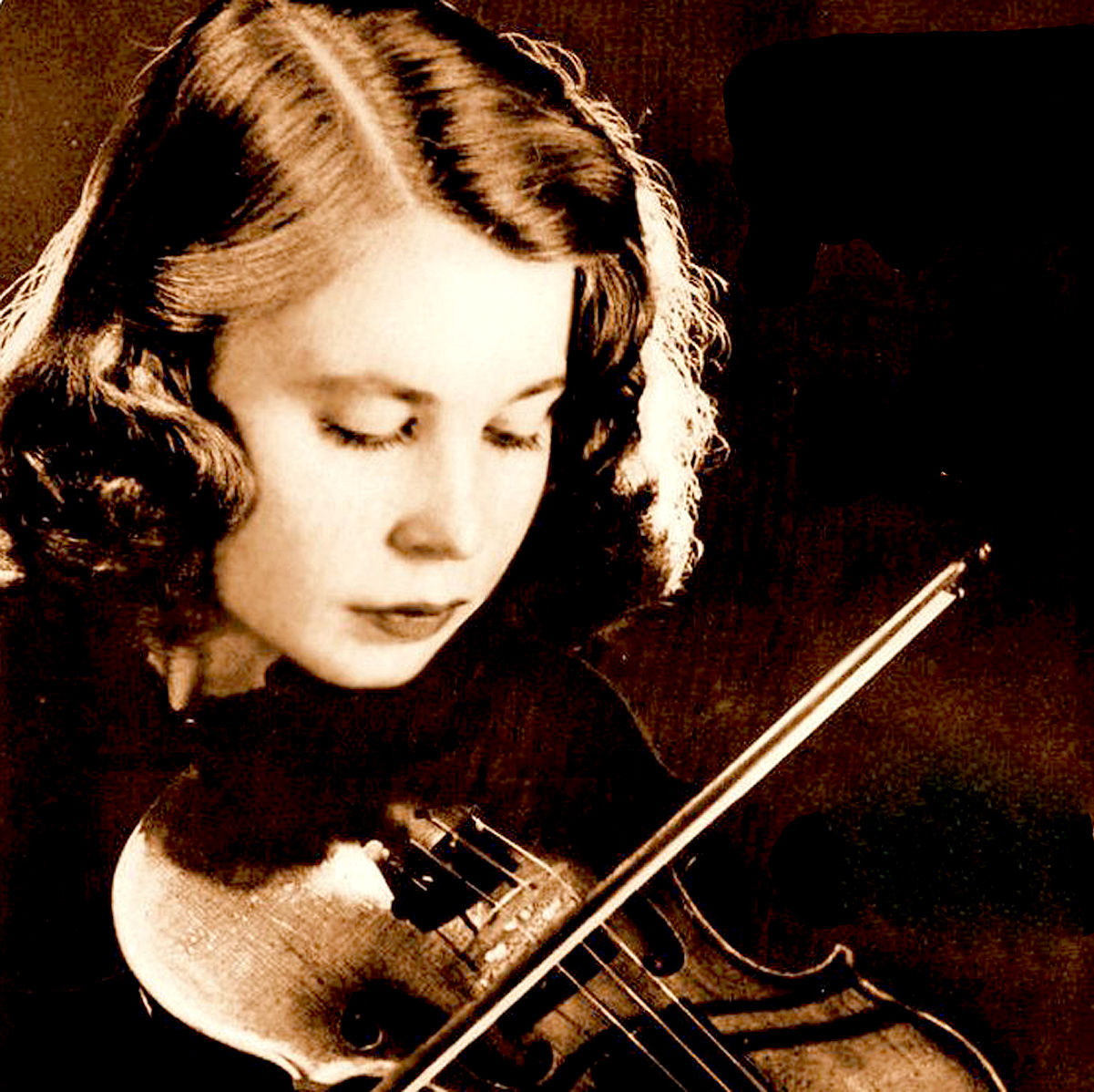 Carroll Glenn, Violin With The National Association Of American Composers And Conductors Orchestra – Music Of Harold Morris – 1953 – Past Daily Weekend Gramophone