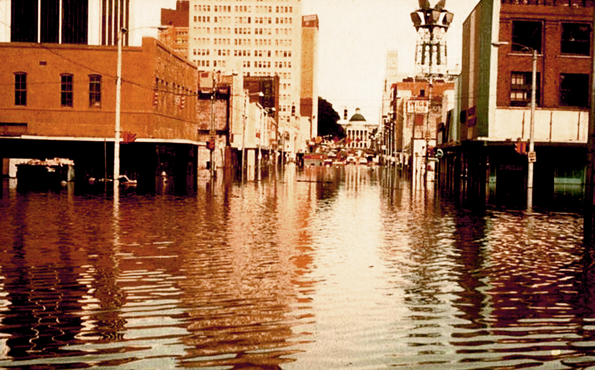 """April 16, 1979 – Jackson Mississippi: """"Chance Of Showers, Deluge Likely"""""""