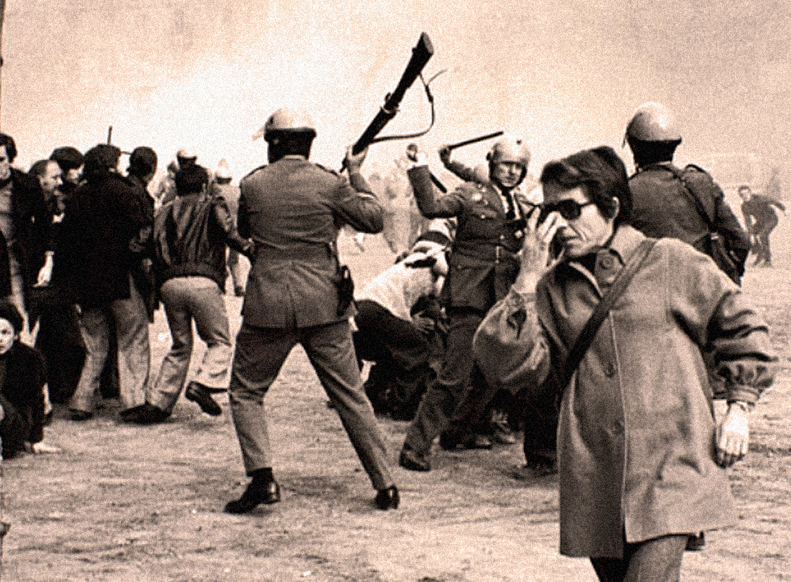 April 3, 1976 – Barcelona Demonstrations – Cairo Snubs Moscow – Beirut Ignores Ceasefire – Dissident Teamsters.