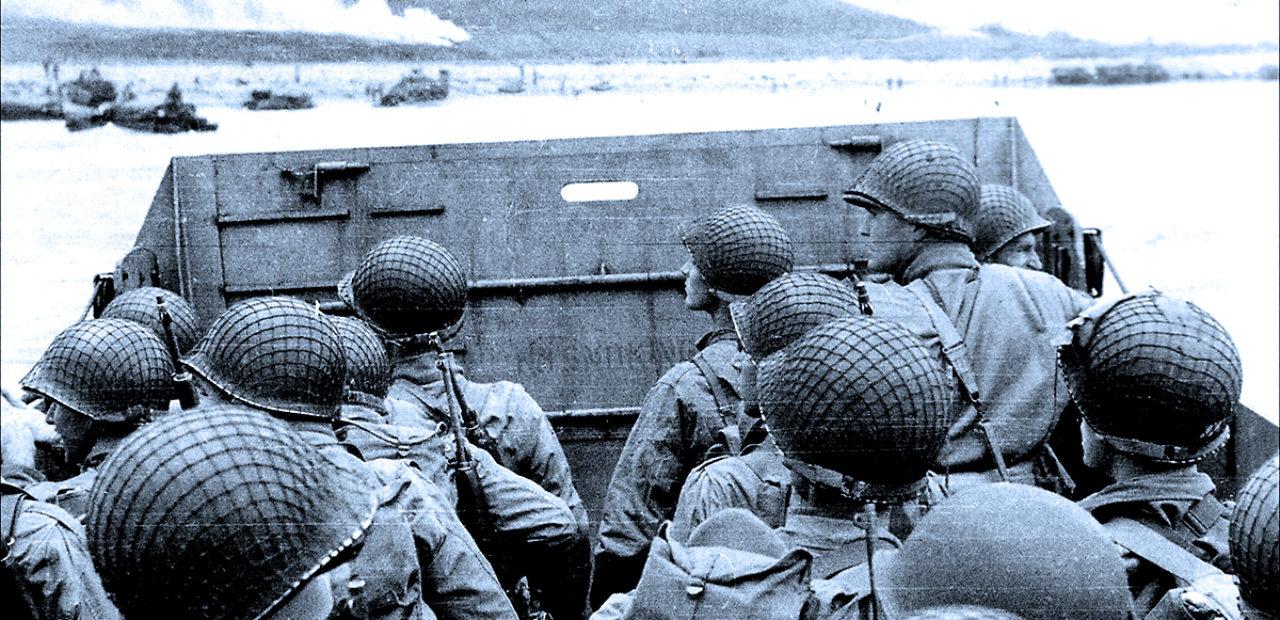 D-Day Landings At Normandy - June 6, 1944
