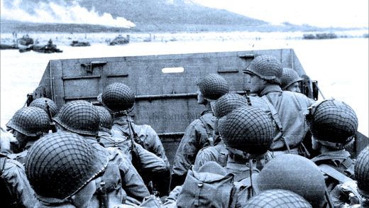 D-Day Landings At Normandy - June 6, 1944