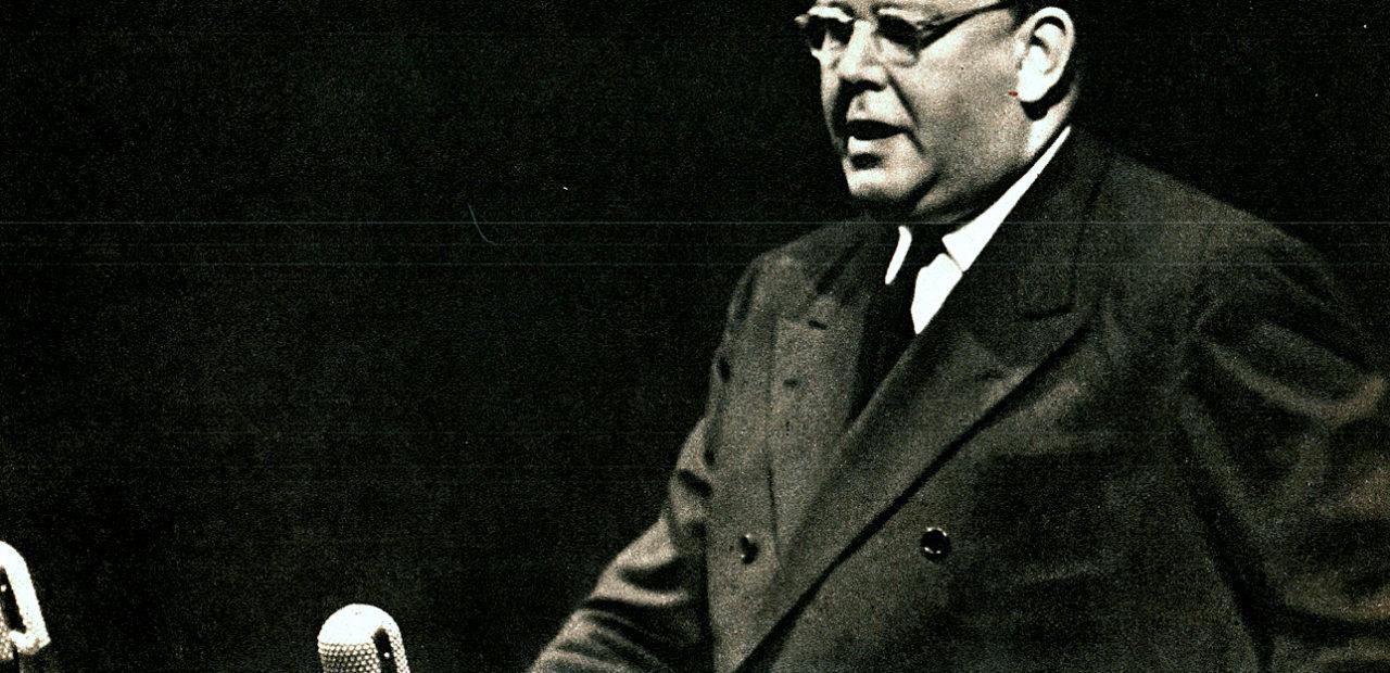 UN Secretary General Trygve Lie