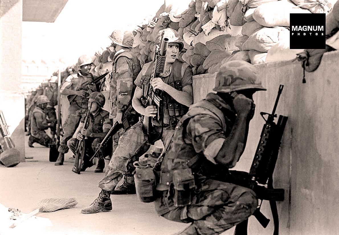 U.S. Marines In Beirut -July 1983