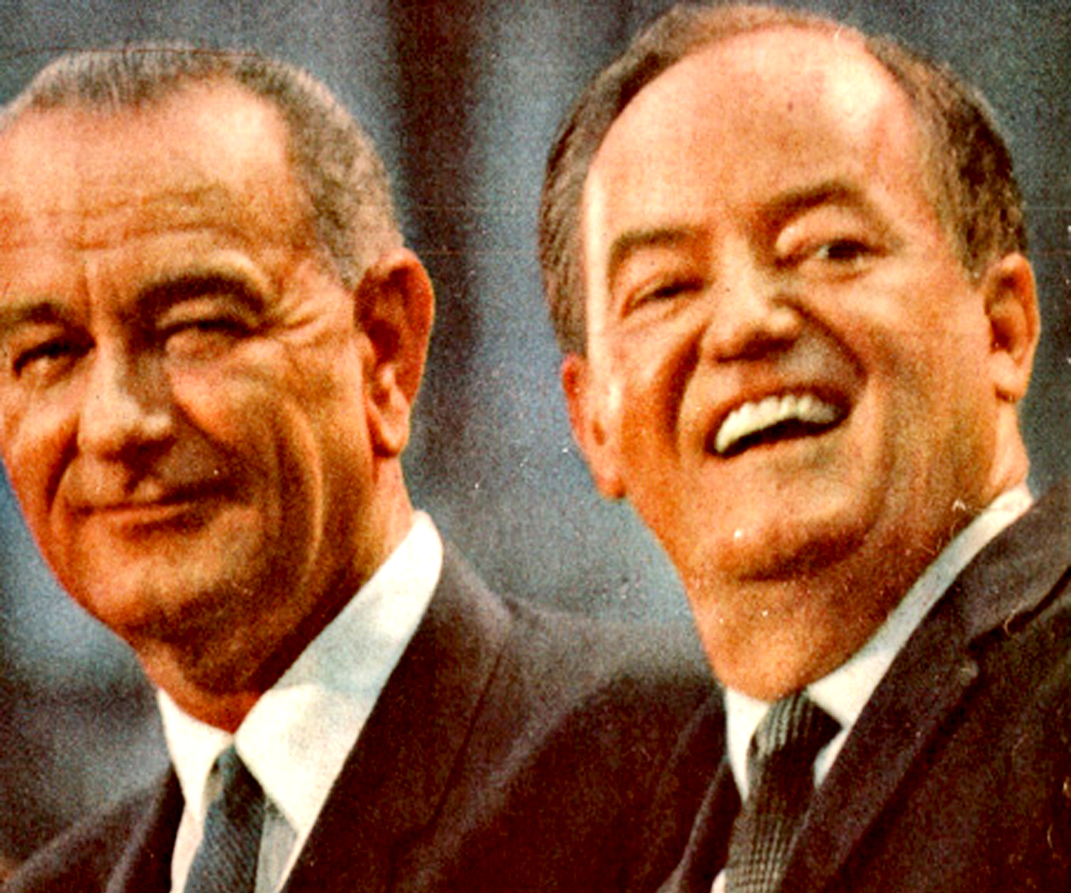 August 27, 1964 – Picking A Vice-President – Hubert Humphrey And The Democratic Convention.