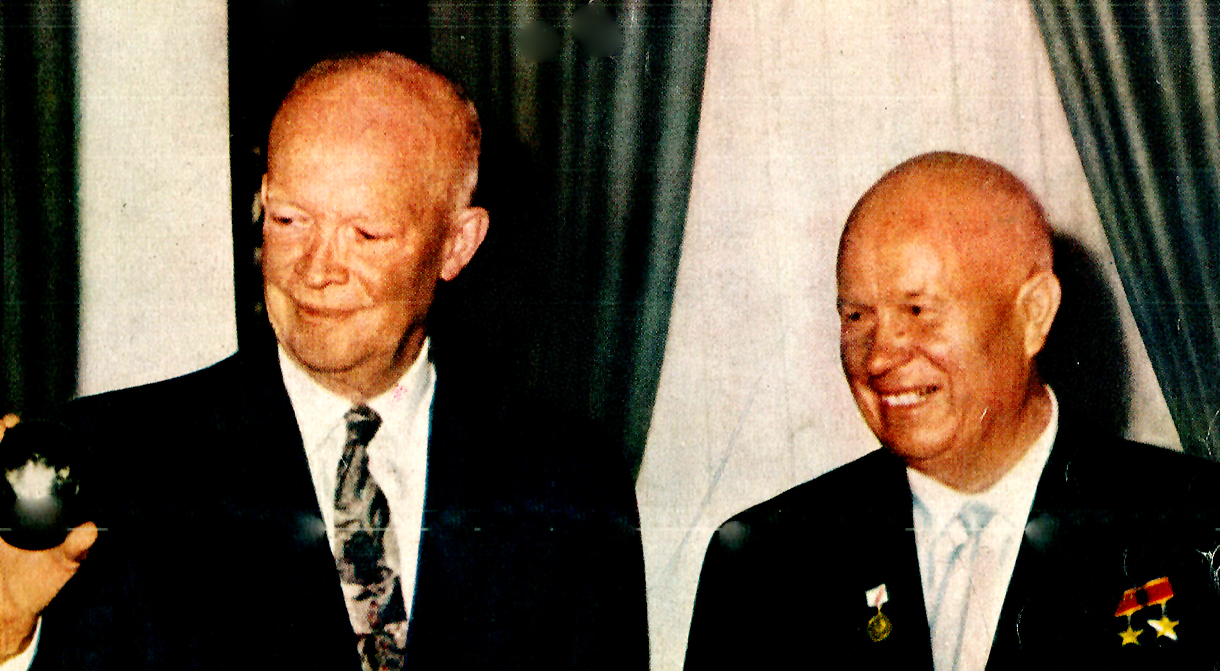 September 25, 1959 – Ike And Khrushchev At Camp David.