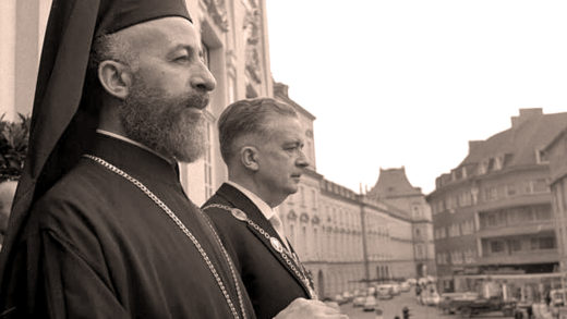 Archbishop Makarios of Cyprus - 1957