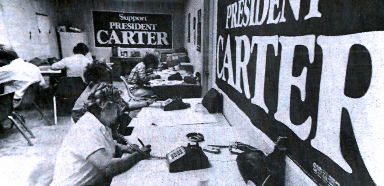 Carter re-election Campaign headquarters - 1979