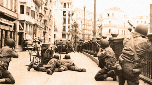 Allies In Algeria - November 1942