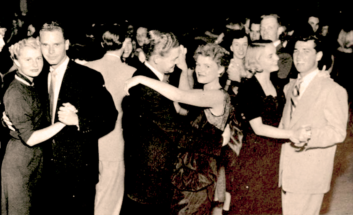 Night Life And Mating Rituals Of The Early 1950s – 1952 And The Lost Art Of Slow Dancing – Past Daily Weekend Pop Chronicles