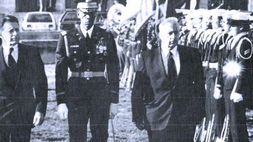 Casper Weinberger - Ariel Sharon - December 1981