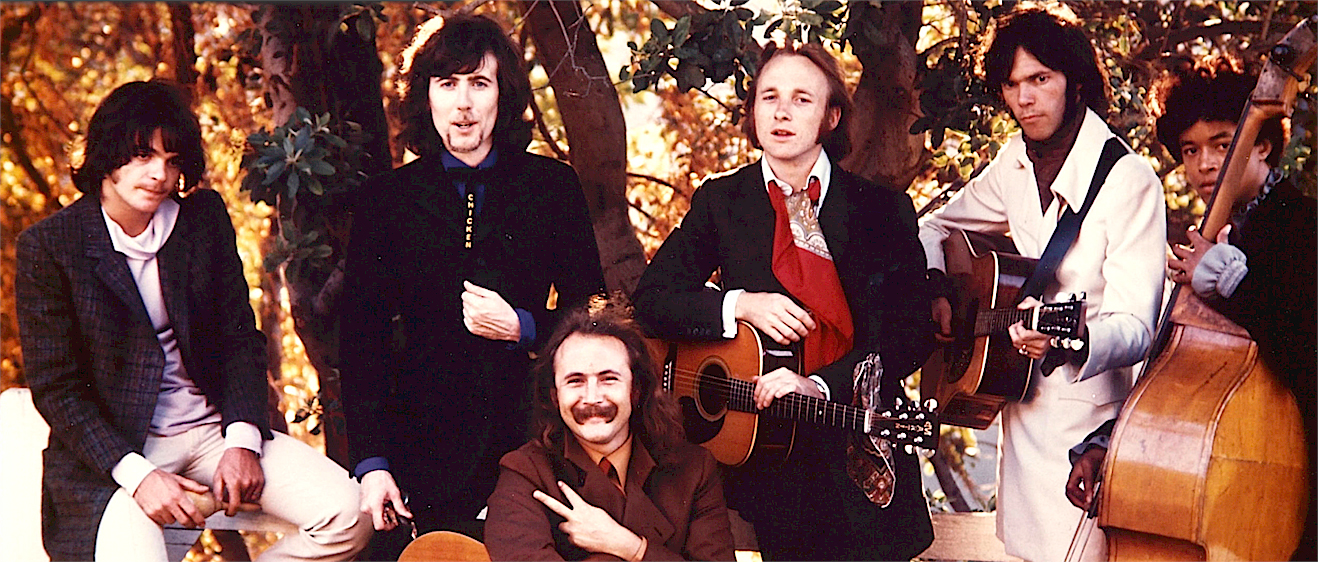 Crosby, Stills, Nash & Young – Greek Theatre – 1969 – Past Daily Backstage Weekend