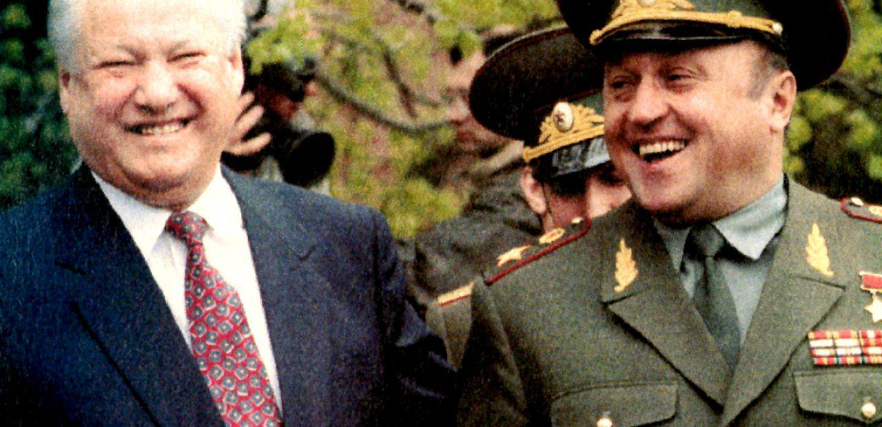 Yeltsin And Grachev